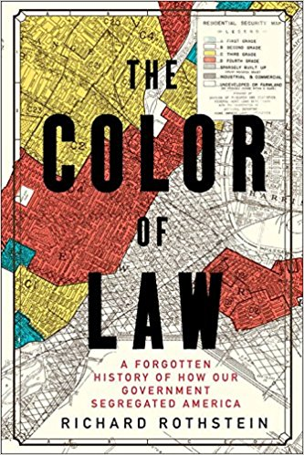 Color of Law - Richard Rothstein - Good lord this book rocked me. As someone who grew up in the deep south, I've always been curious about why the makeup of Southern cities still tend to be along racial lines. Color of Law argues that its isn't just the South that has this problem. It'll break your heart but also fill you with courage to actually do something about it!