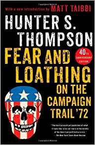 Fear and Loathing on the Campaign Trail - Hunter S. Thompson - Most of us know Hunter S. Thompson for Fear and Loathing in Las Vegas. Yet, he was mostly known as a reporter for The Rolling Stone that wrote a bunch about politic, drugs, and motorcycles. This book is a compliation of his writings covering the 1972 election between George McGovern and Richard Nixon. You'll find some pretty interesting correlations between 1972 and 2016 in here.
