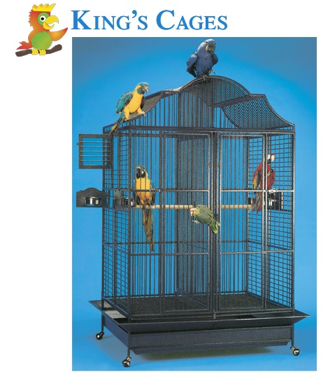 Find the cage/products you want, email us the links, and we will send you the total cost. http://www.kingscages.com/