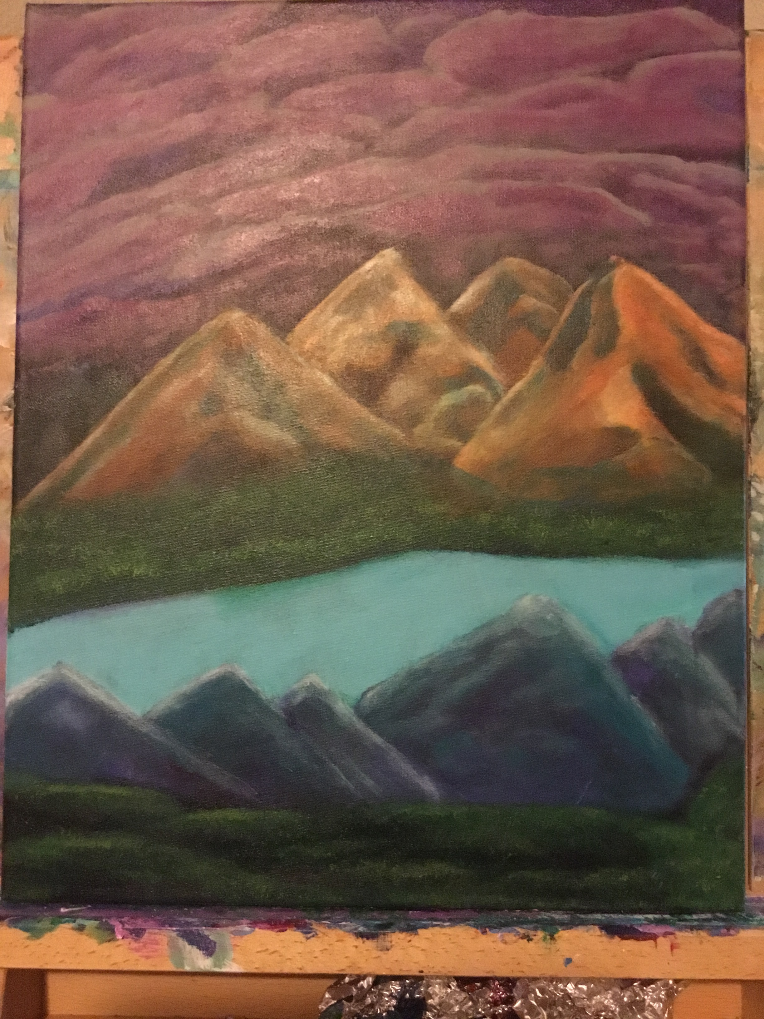 """2016 """"Night Whispers Mountains"""""""