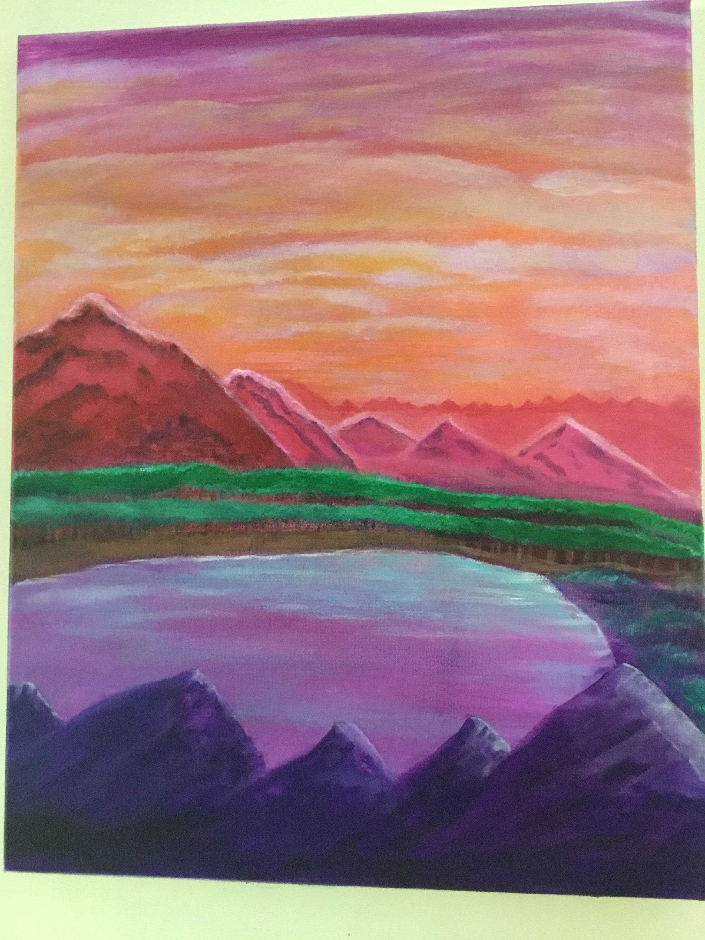 """""""Easter Mountains"""" (2017)"""