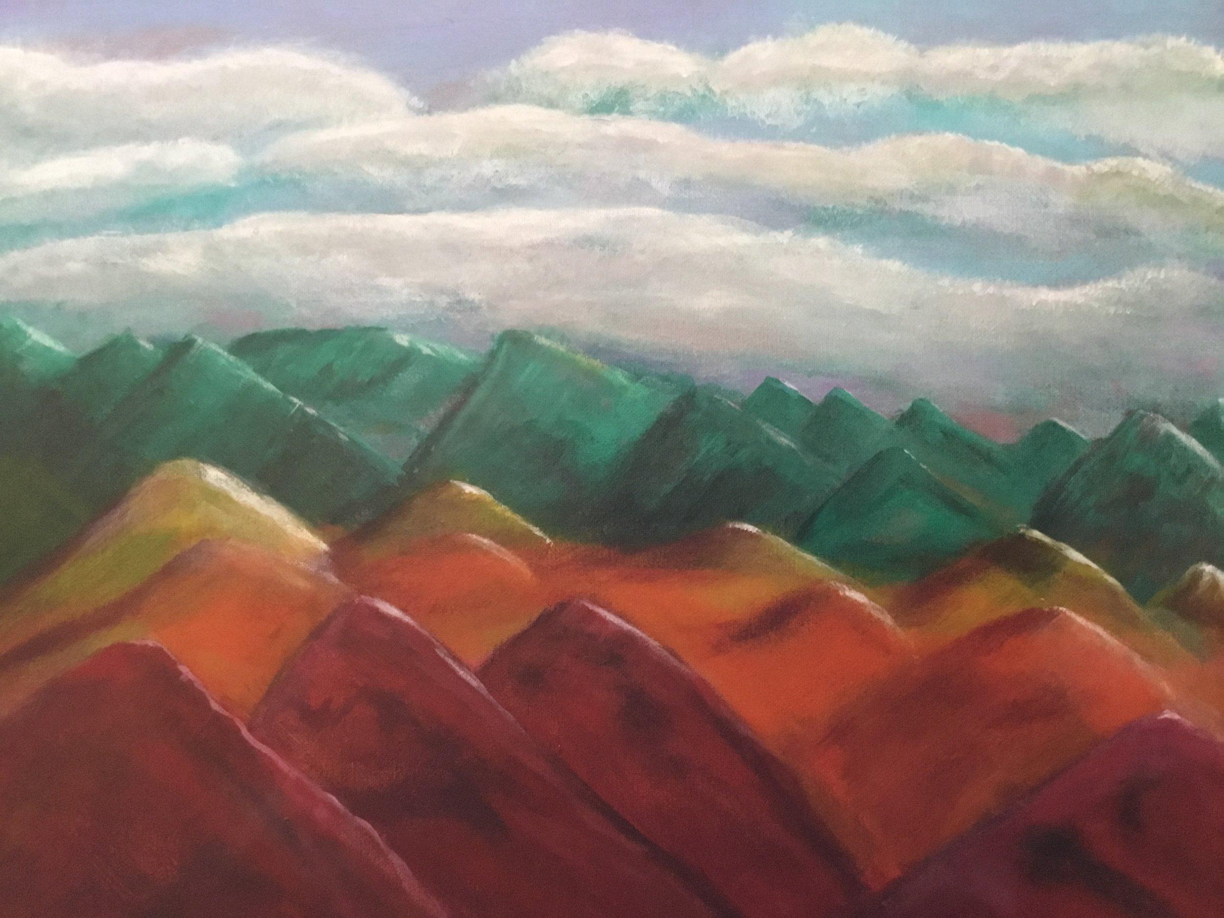 """""""Return to Chakra Mountains"""" (2017)"""