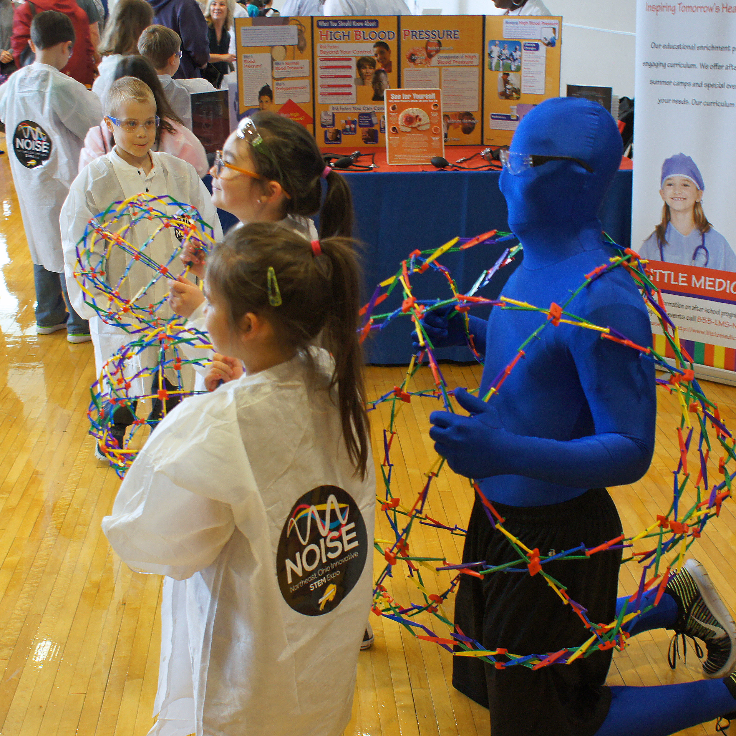 NOISE - NOISE IS A ONE DAY EXPO SHOWCASING STEM (SCIENCE, TECHNOLOGY, ENGINEERING, AND MATH)THE EVENT WILL BE HELD AT THE BEACHWOOD HIGH SCHOOL ON APRIL 13, 2019 FROM 11:00 AM - 4:00PM