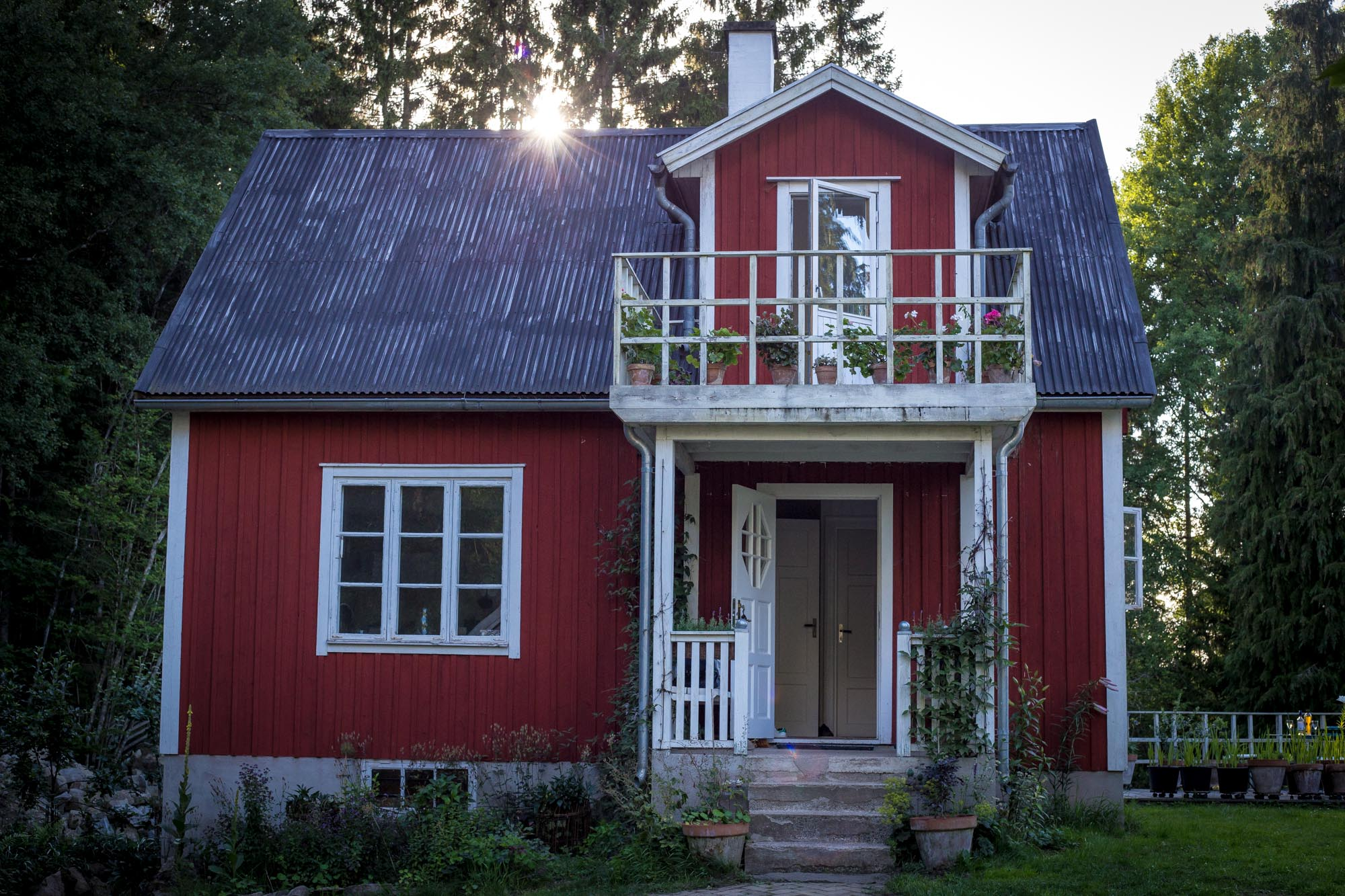 Our friends house in Bräkne-Hoby, Sweden.
