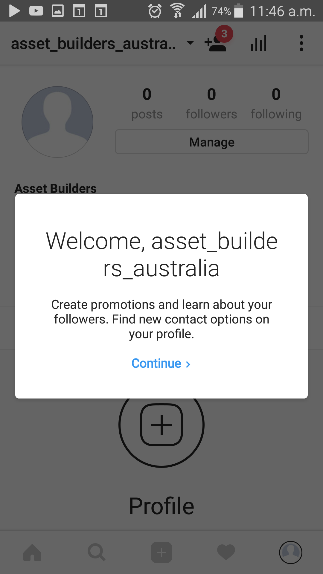 Step 8 - Done - Congratulations, you have completed setting up your Instagram Business Profile.This business profile can be accessed by anyone who knows the email and password for the account.
