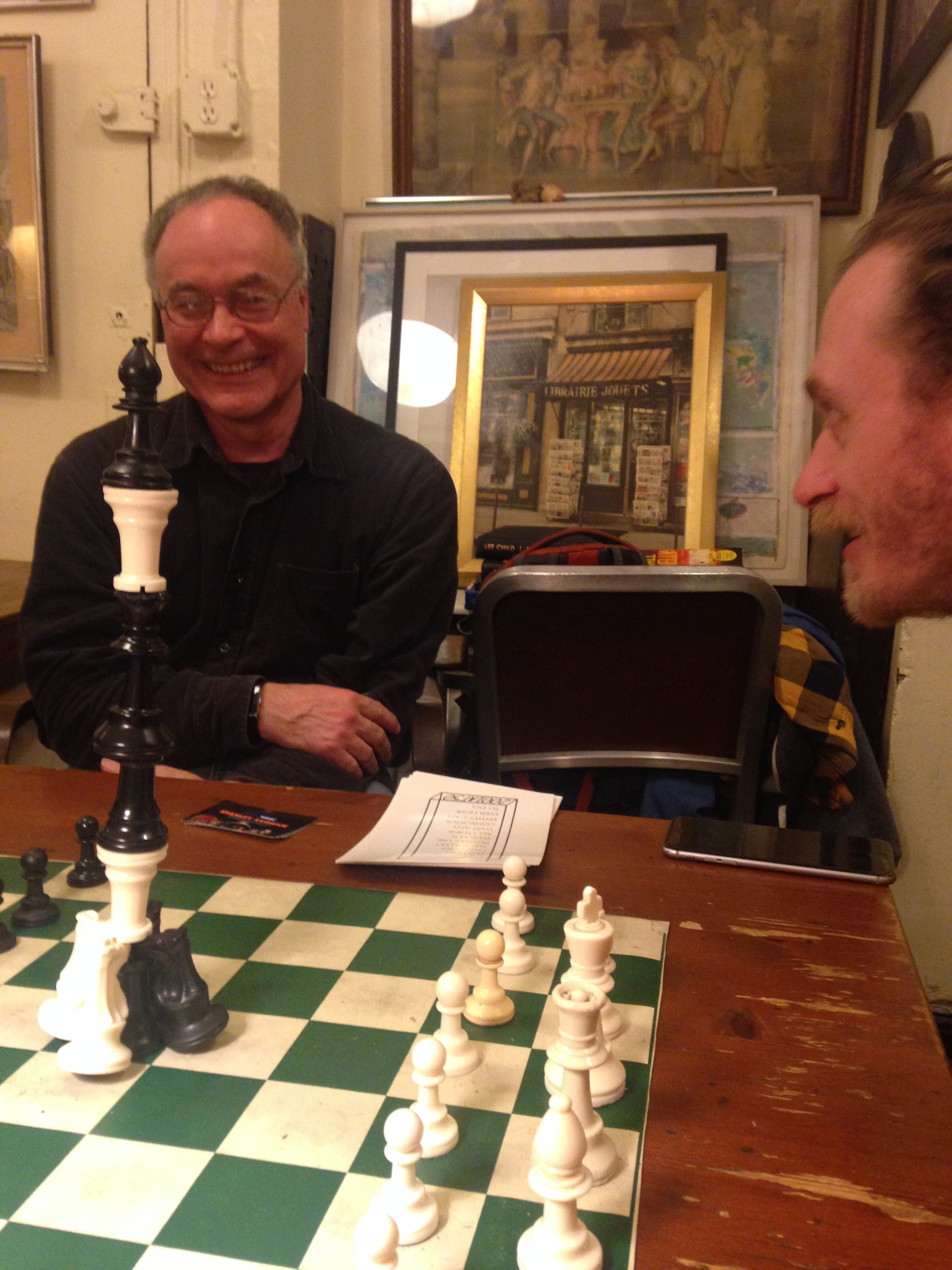 OUR VISIT TO CHESS FORUM - March 29, 2018