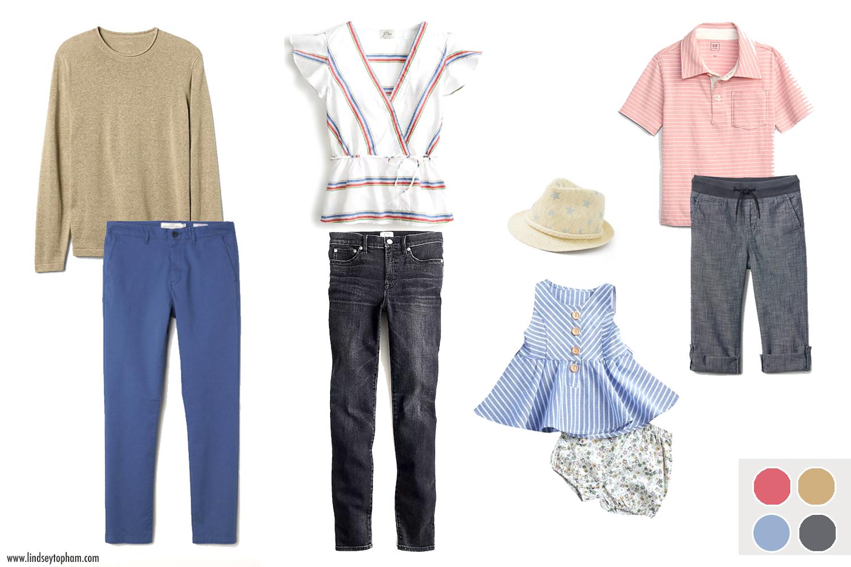 men's pullover  |  men's pant  |  women's shirt  |  women's pant  |  girl's romper  |  girl's fedora  |  boy's pant  |  boy's polo