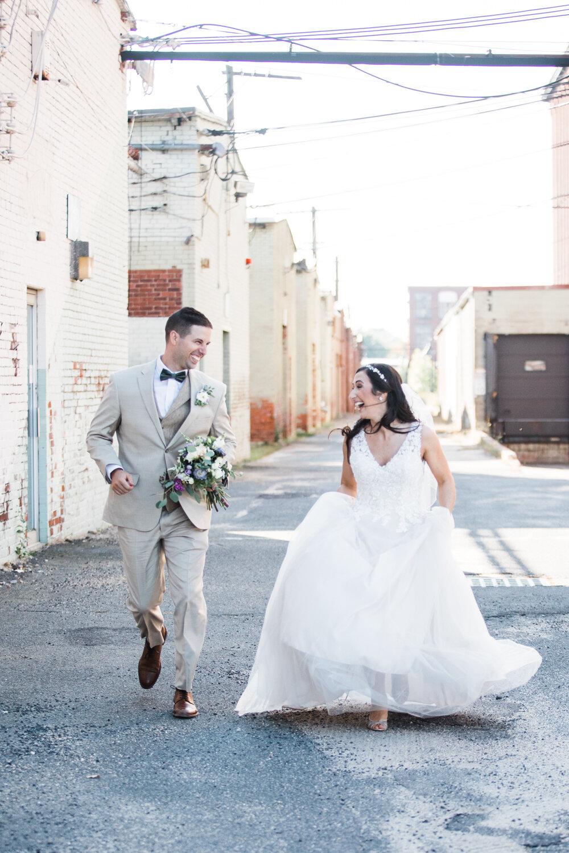 Ludlow Mills Wedding Photos