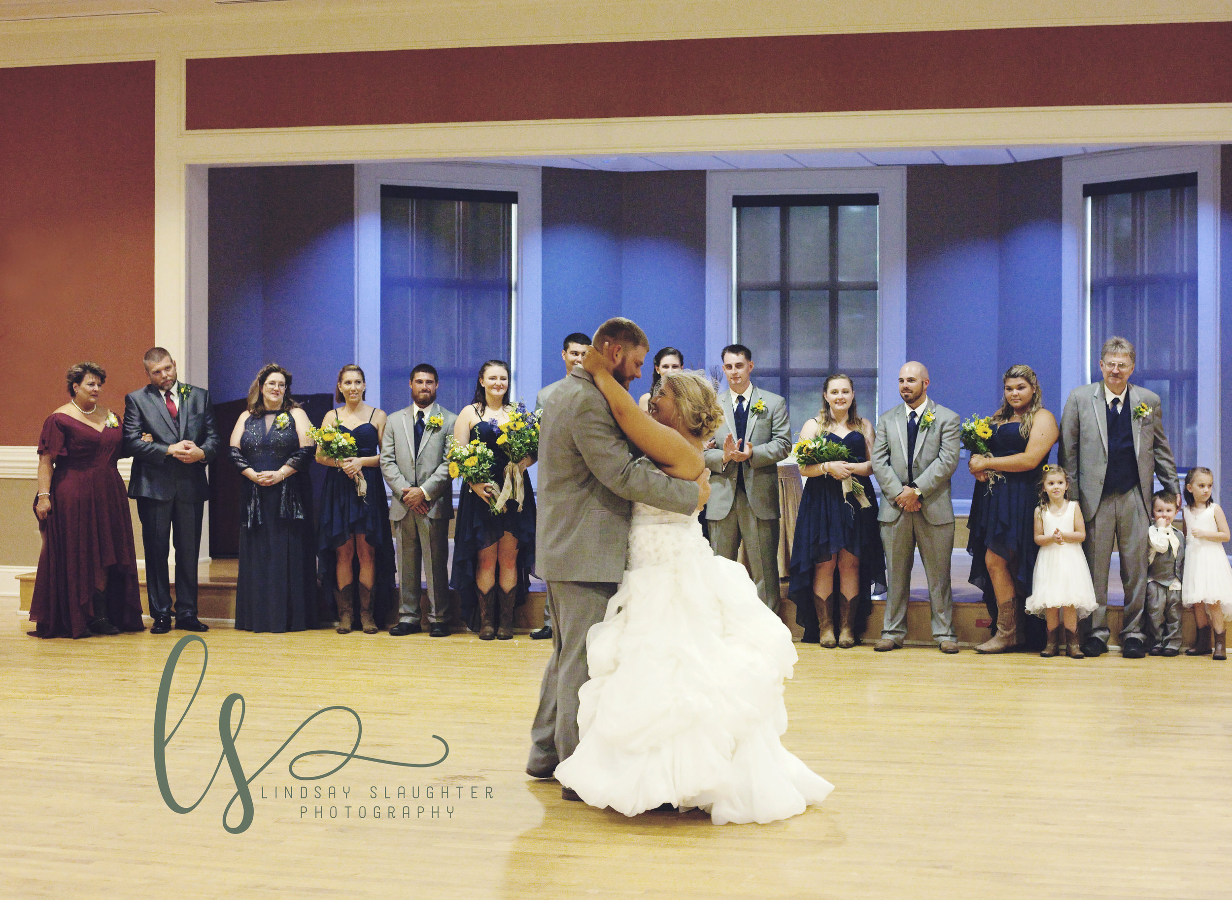 They danced their first dance and it was beautiful.