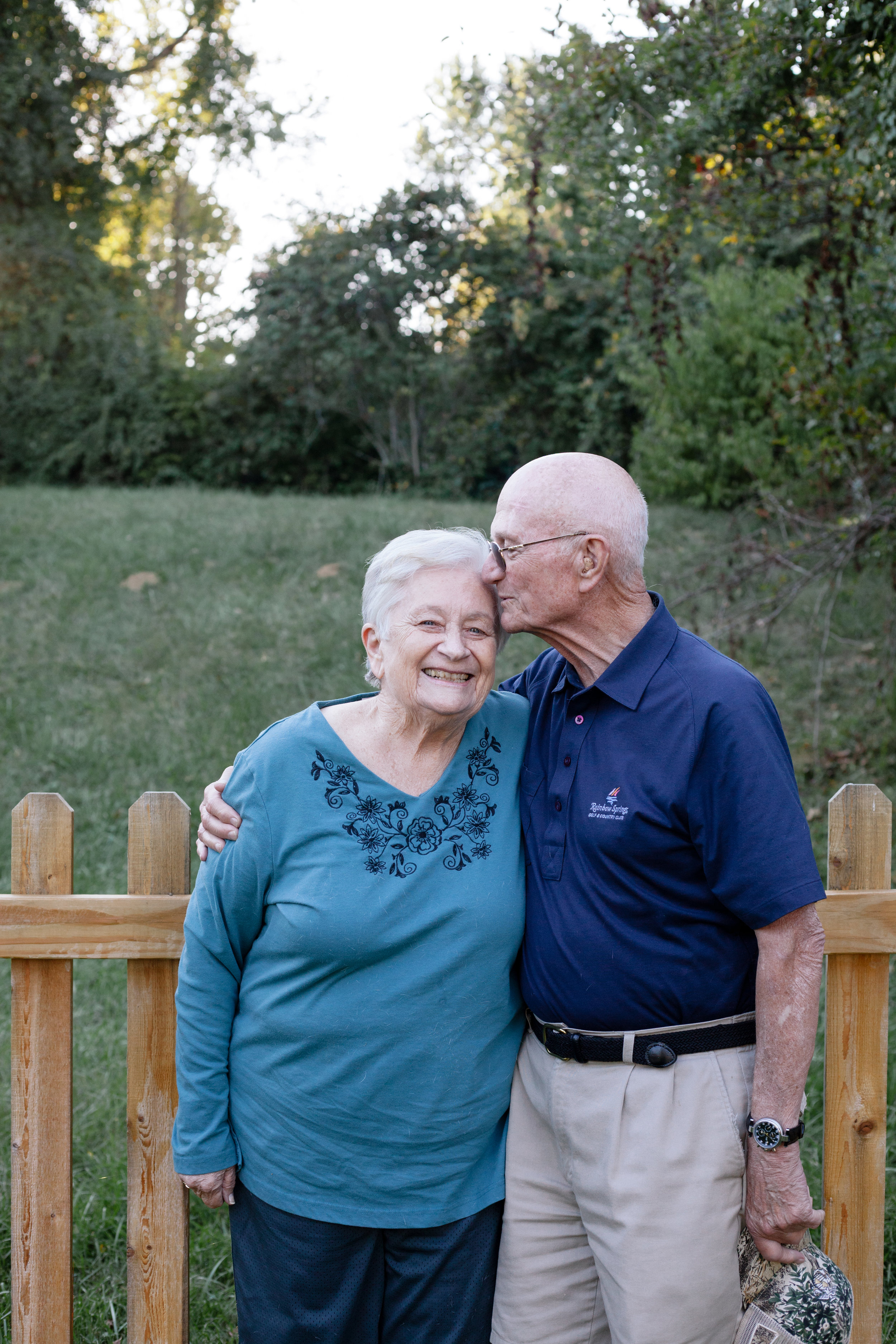 This is Grandma and Grandpa Slaughter. They have been married for 62 years, he is a Veteran, Retired Detective and Police Chief. We have so much love for these two.