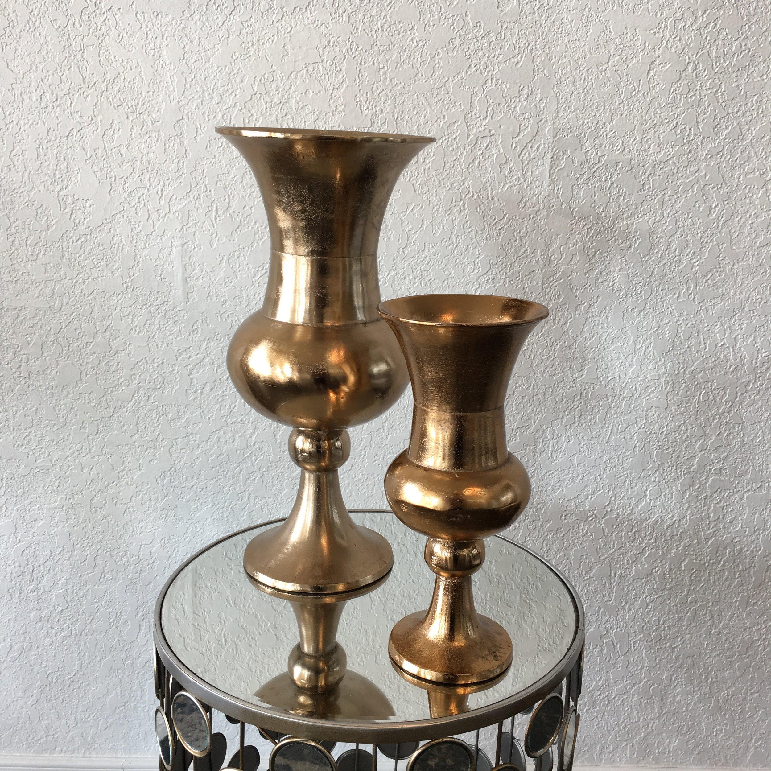 Gold Metal Urns