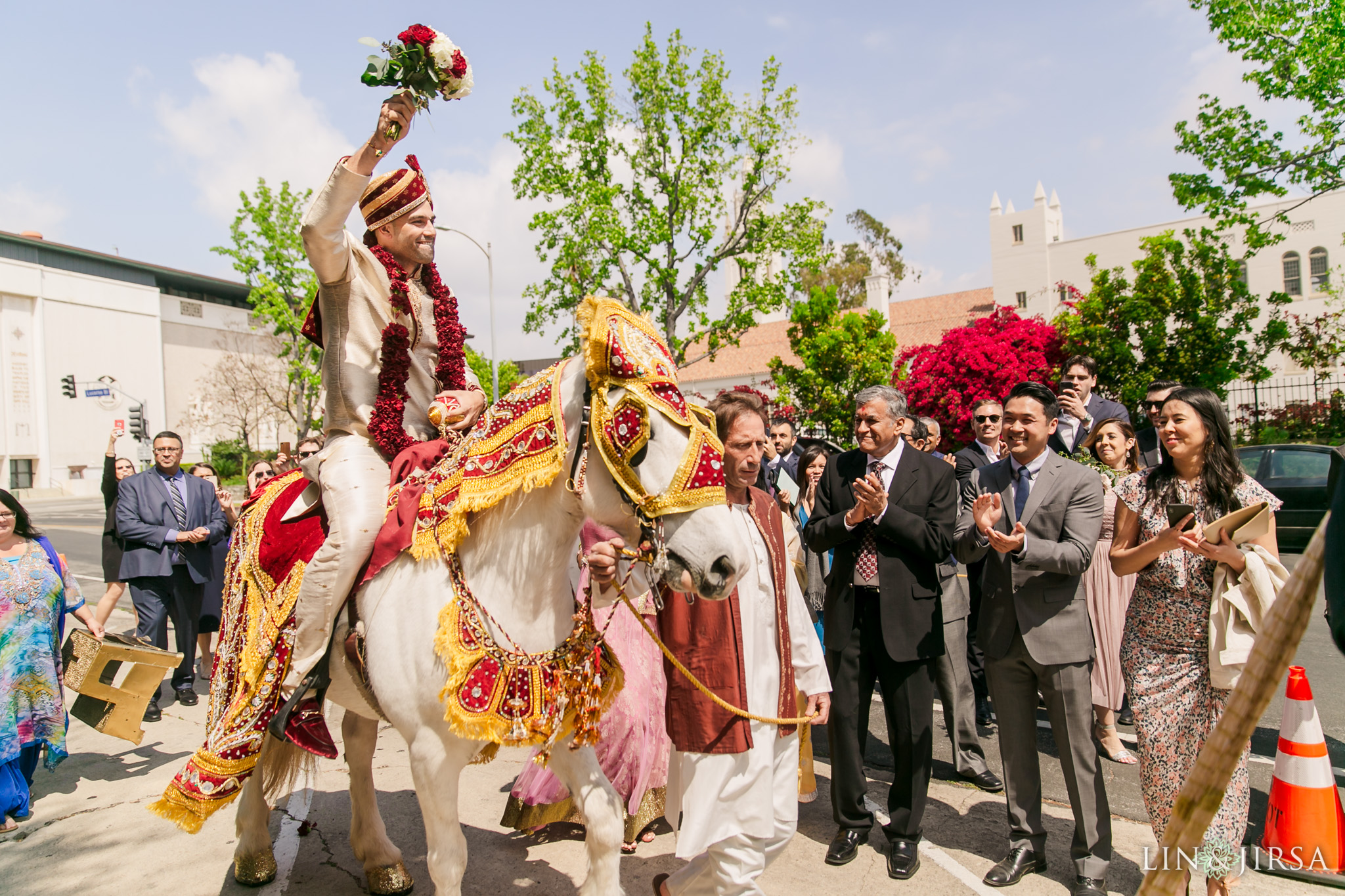 17-The-Ebell-Los-Angeles-Indian-Wedding-Baraat-Photography.jpg