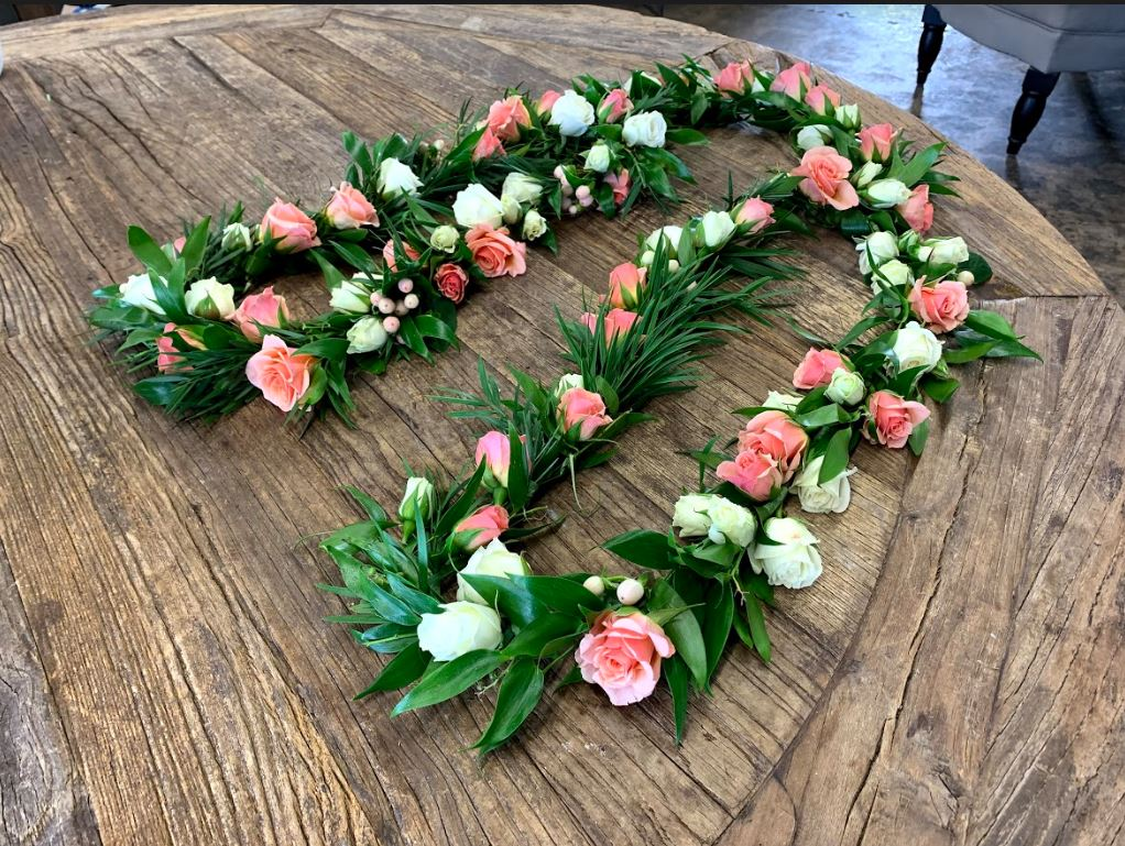Flower Wedding Lasso