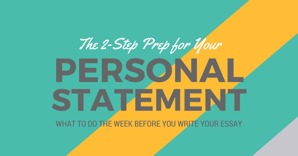 Prepare to write your PA school personal statement
