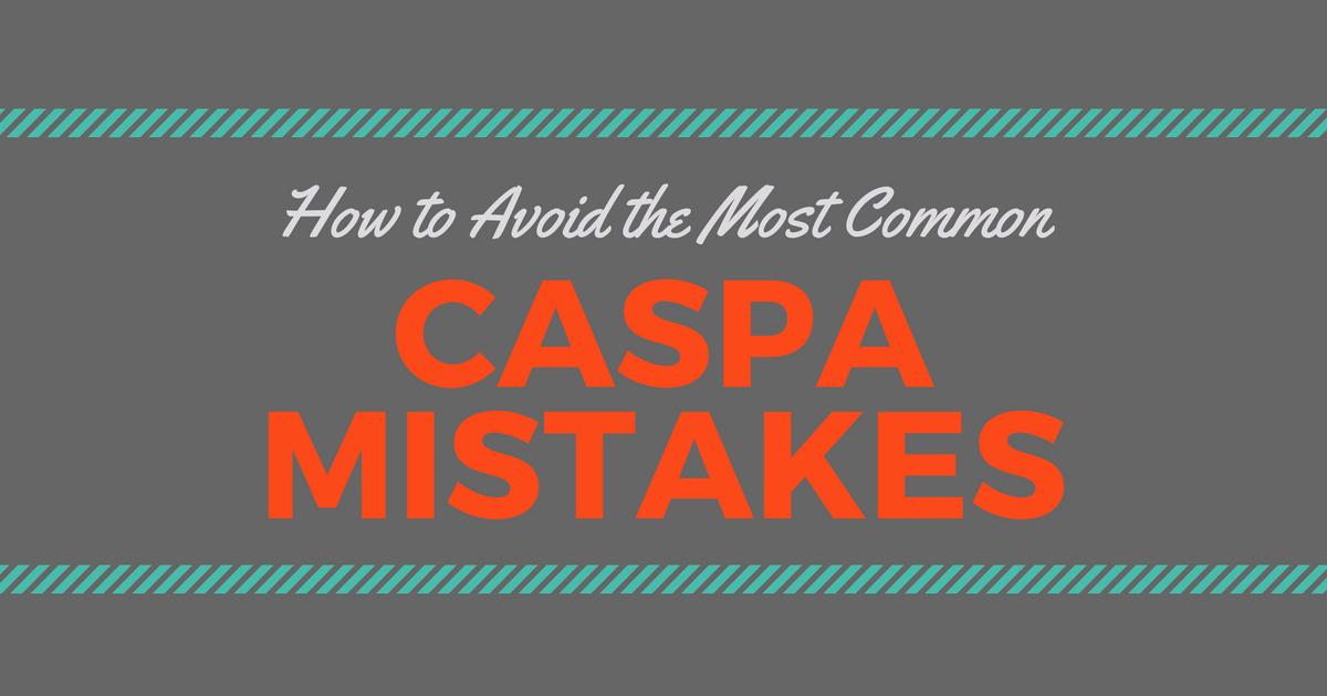 CASPA application tips