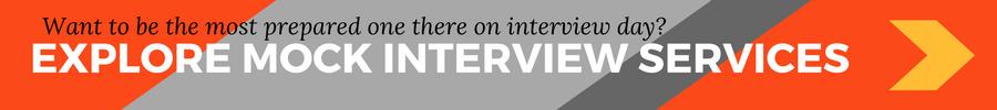 Mock interview banner