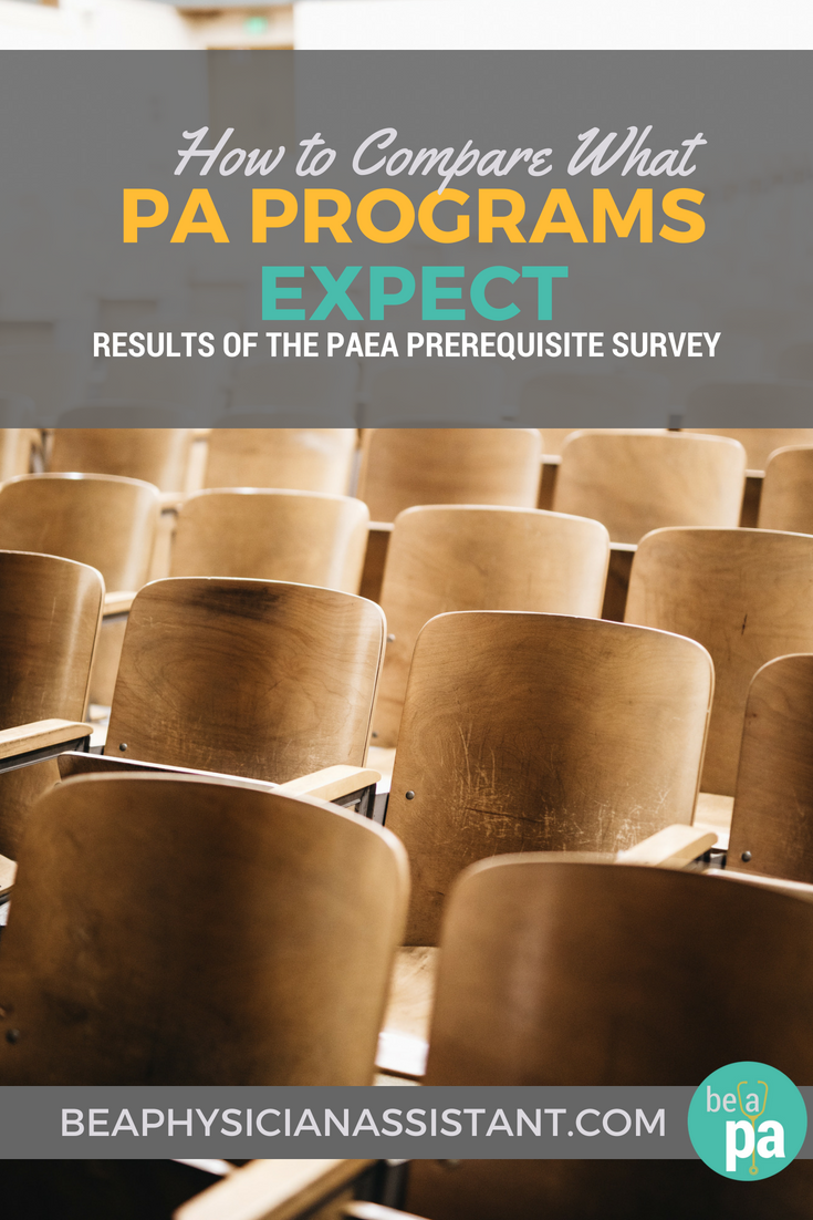 What PA Programs Expect from ApplicantslBe a Physician Assistant