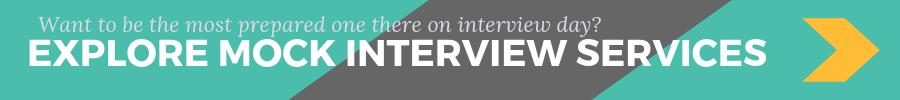 Mock interview scheduling