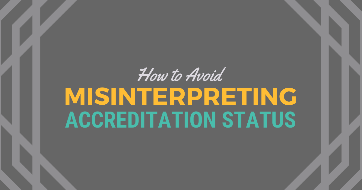 How to Avoid Misinterpreting Accreditation StatuslBe a Physician Assistant