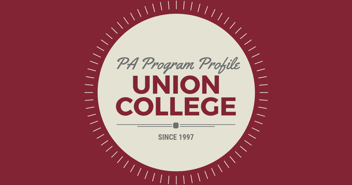 PA Program Profile: Union CollegelBe a Physician Assistant