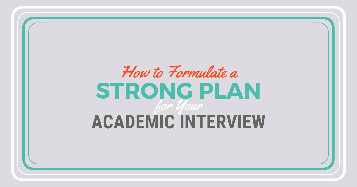 How to Approach an Academic Interview for PA SchoollBe a Physician Assistant