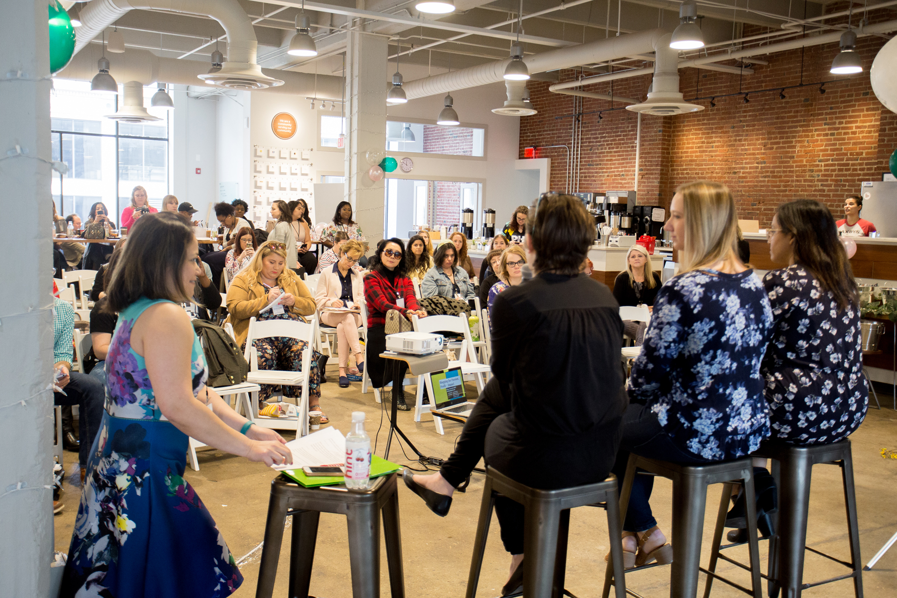 The Blog Connect 2018 Blogging for Passion, Profit, and Impact panel. || Photo by  Tim Becker Photography