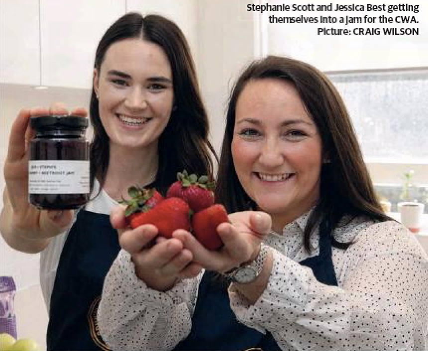 WENTWORTH COURIER  DEC 2016 Jessica Best and Stephanie Scott featured their latest jams as a preserving duo