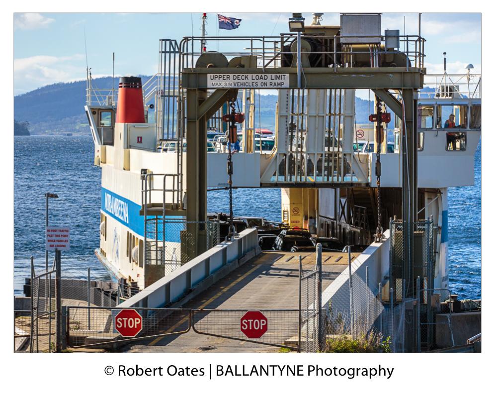 Mirabeena, the Bruny Island Ferry runs regular return trips everyday, year round