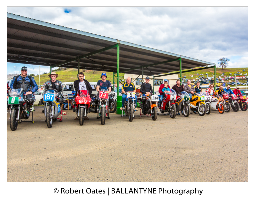 SRCT Vintage Bikes and riders