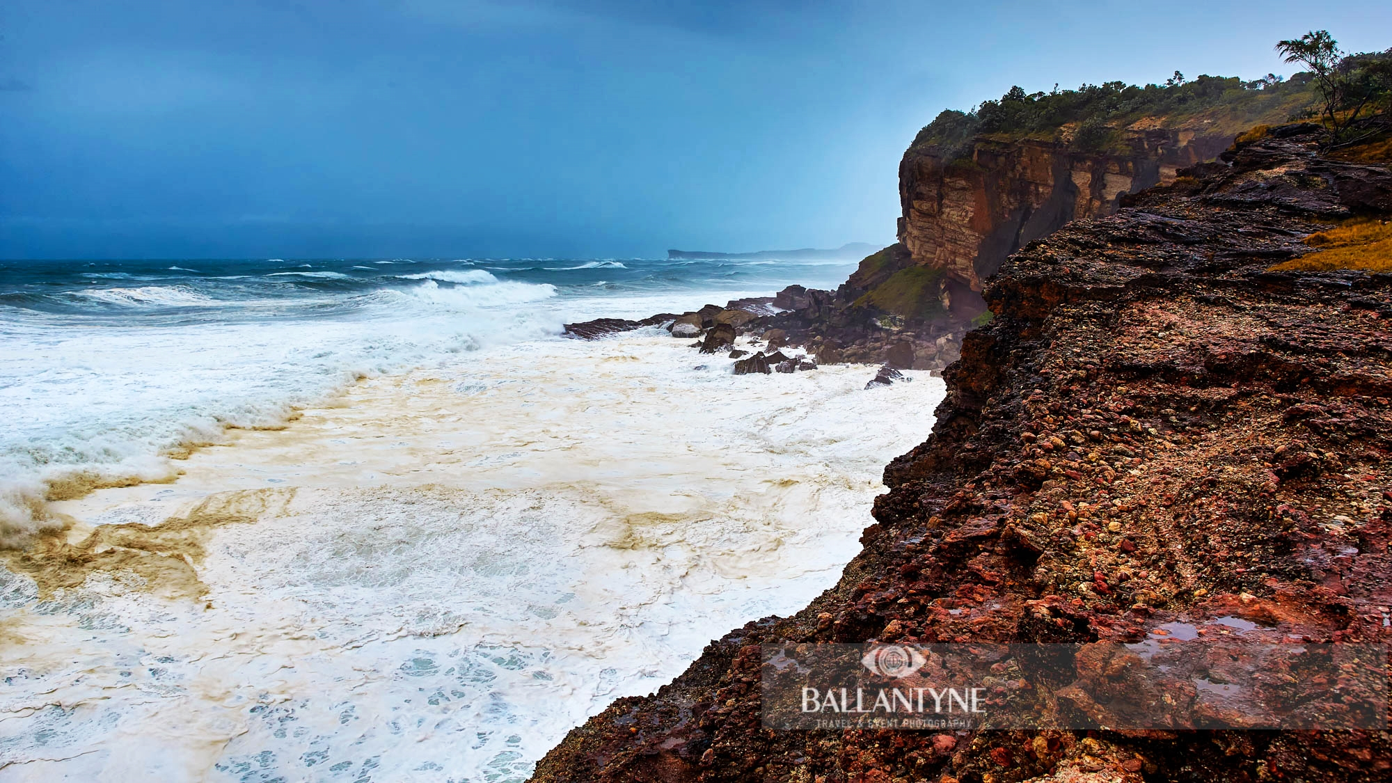 Winter Storm, Bonny Hills, New South Wales, Australia