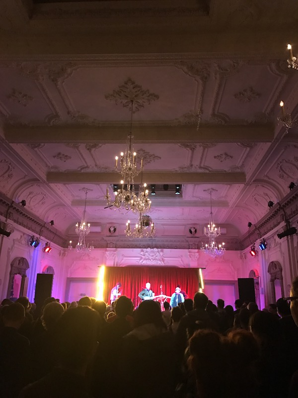 Pete Astor ripping it up at the amazing Bush Hall