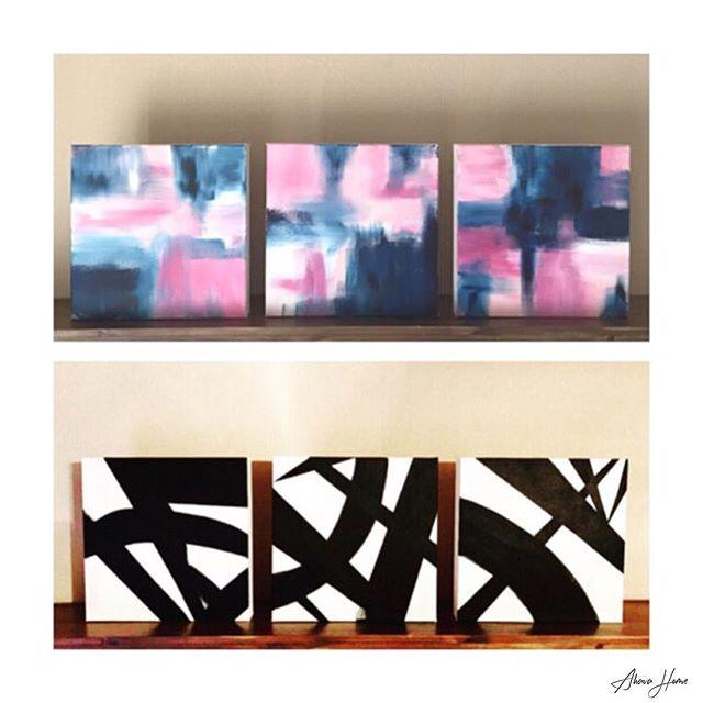 T R I O S  Link in bio.  #art #art🎨 #artist #artwork #artistsoninstagram #instaart #instaartist #shop #shopping #painting #paint #fineart #home #homedecor #canvas #decor #design #designer #etsy #etsyshop #etsyseller #handmade #handcrafted #handpainted #woodwork #woodworking #ahavahome