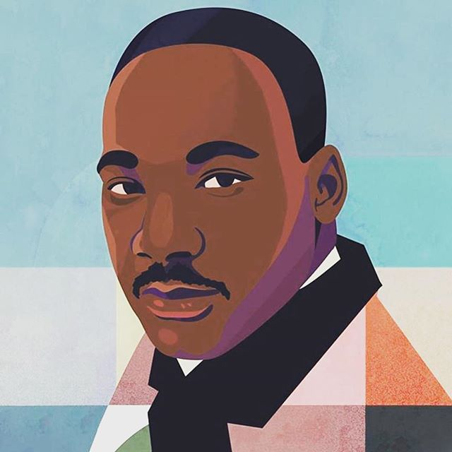 Today we honor the life and work of Dr.Martin Luther King Jr. May we not just see today as a day off, but as a day on- working and striving to improve the climate and state of our nation and promote justice and equality for all. Thank you, Dr.King. (Photo courtesy of @Refinery29) #MLK50Forward #MLKDay#MLK #art #artist #artwork #painting #paint #mlk #celebrate #artistsoninstagram #home #homedecor #homedecoration #shop #shopping #shoplocal #etsy #etsyshop #nordstromhome