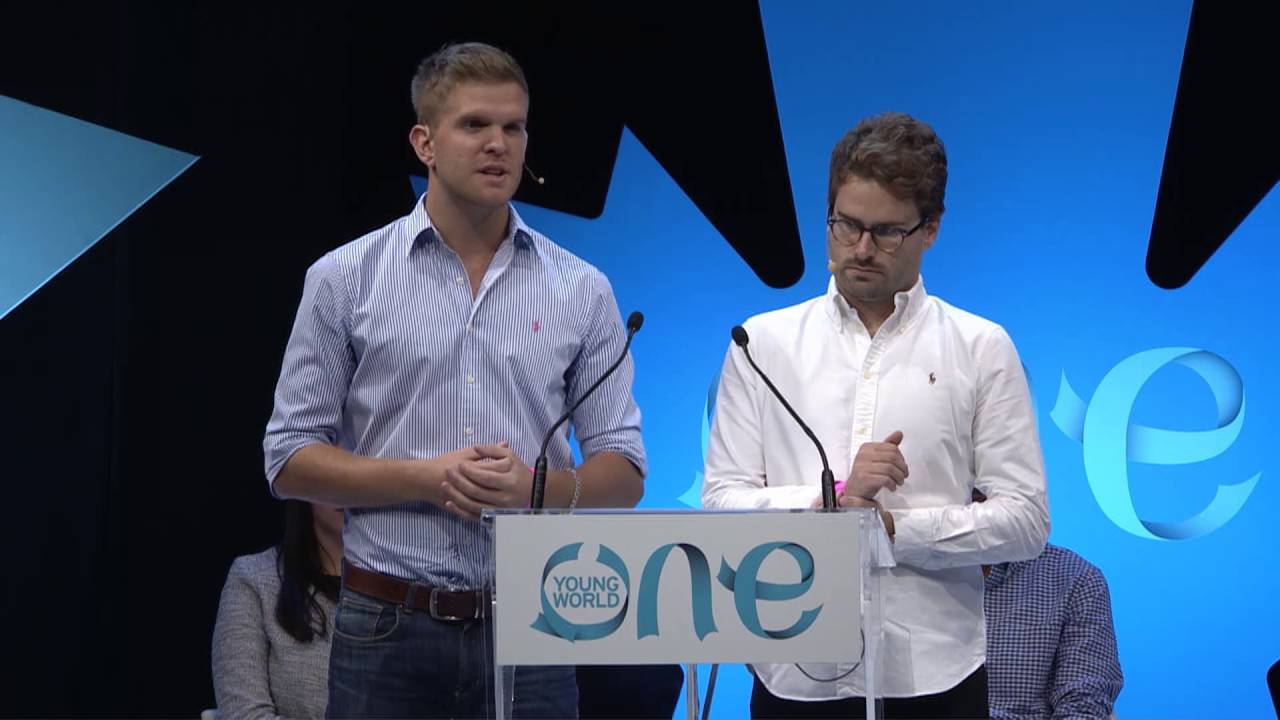 Tim Heard and David Spears, Co-Founders of The Circle of Young Intrapreneurs.