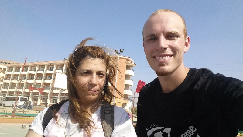cole with lady in egypt 2014.jpg