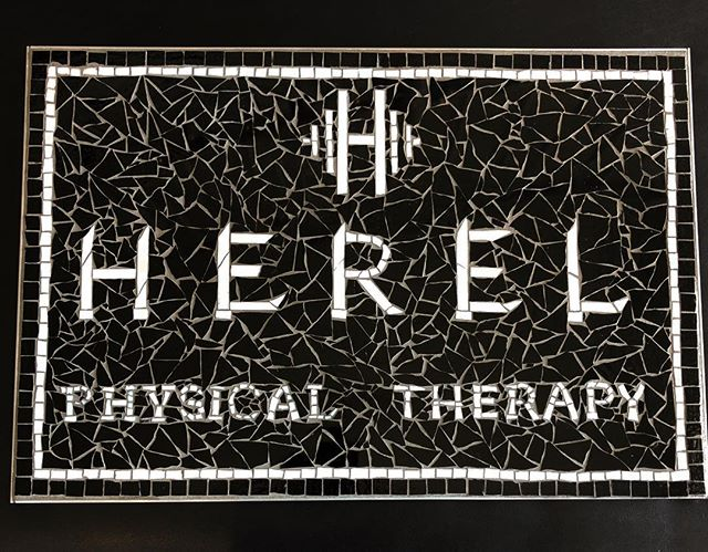 Fact: I have the best patients. #mosaic #newsign #physicaltherapy #rehab #montanaave #fitness