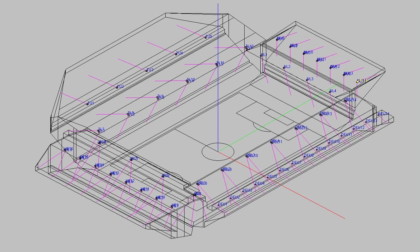 EASE model of Villa Park
