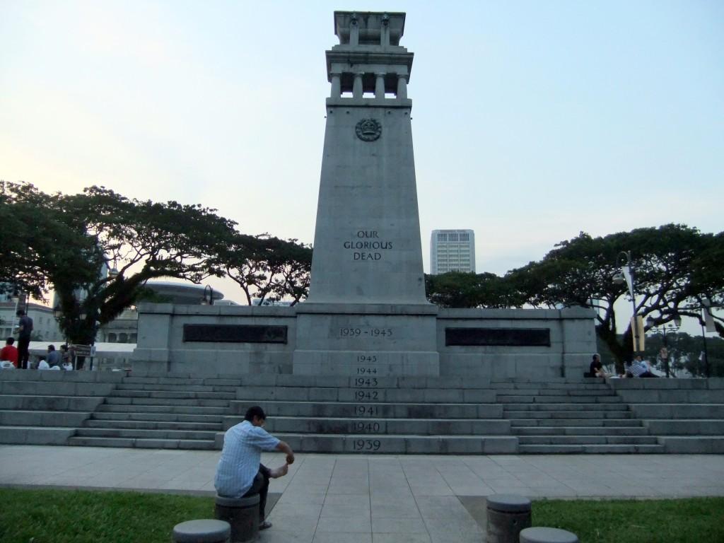 Singapore Cenotaph, Esplanade Park Singapore