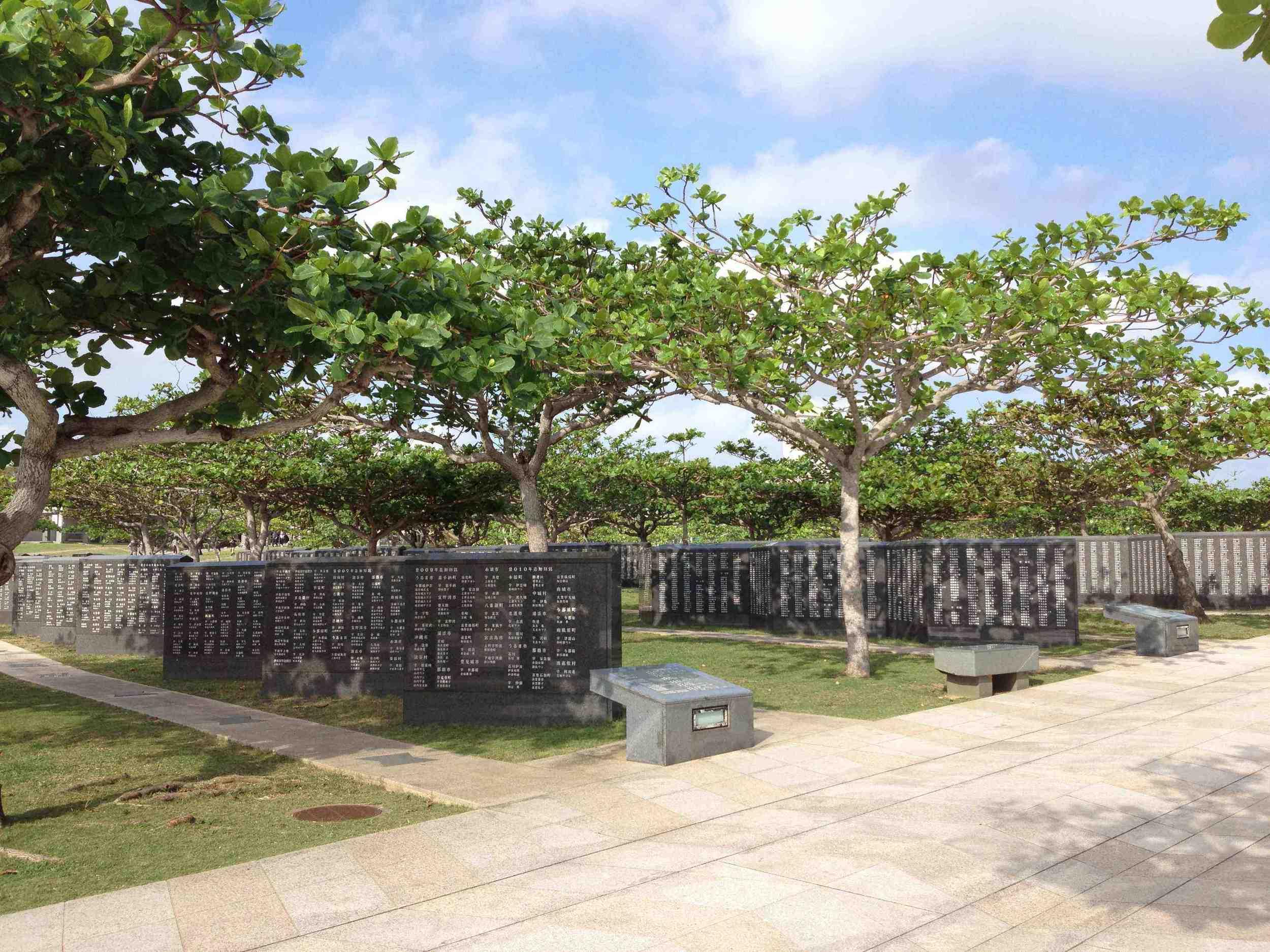 Cornerstone of Peace, Okinawa Peace Park