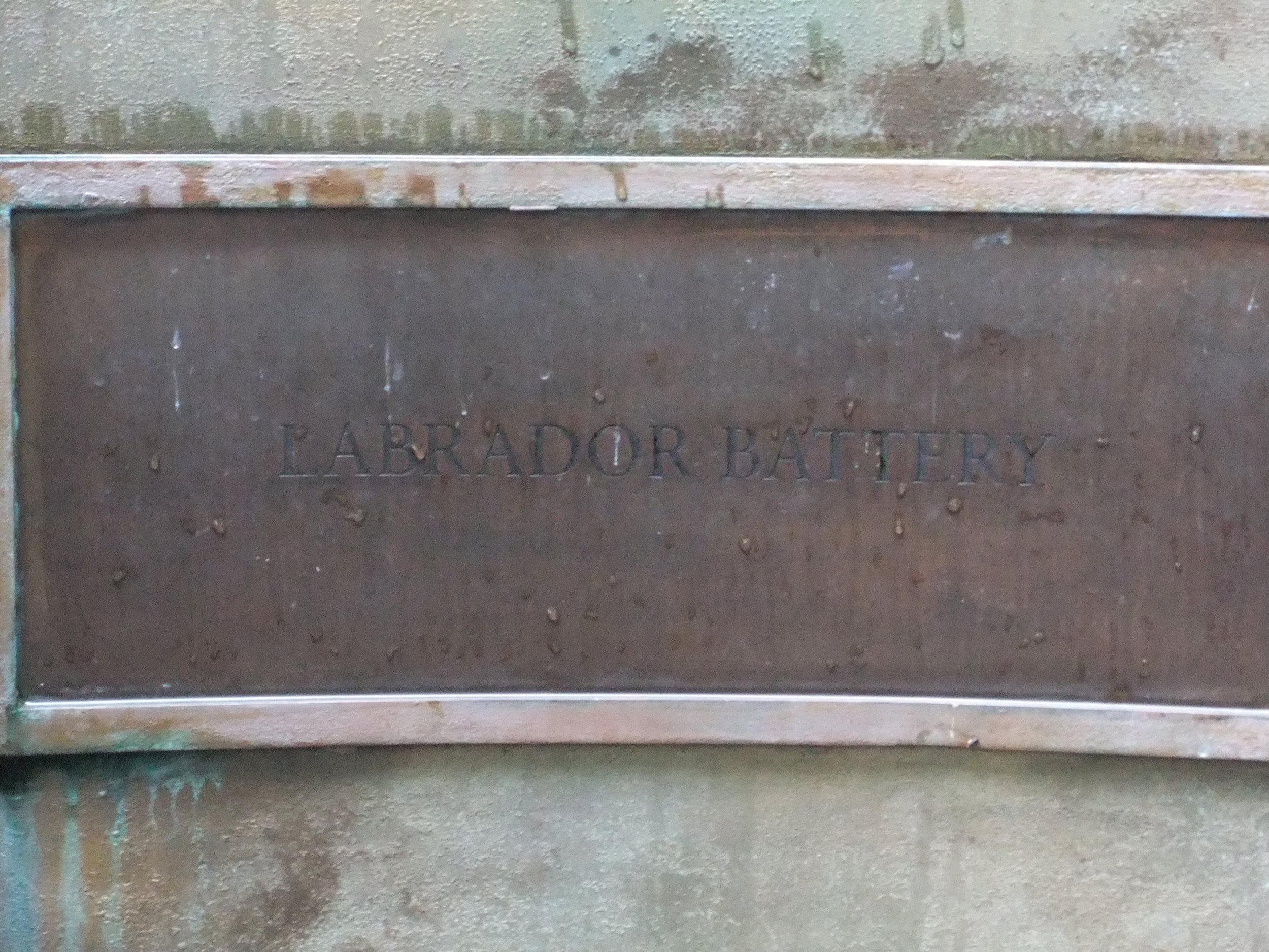 Labrador Battery Memorial, Labrador Park