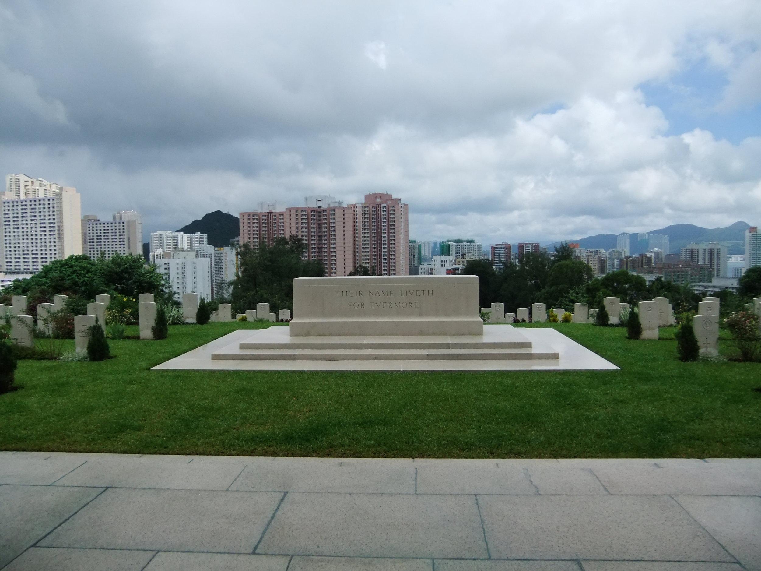 Sai Wan War Memorial & Cemetery