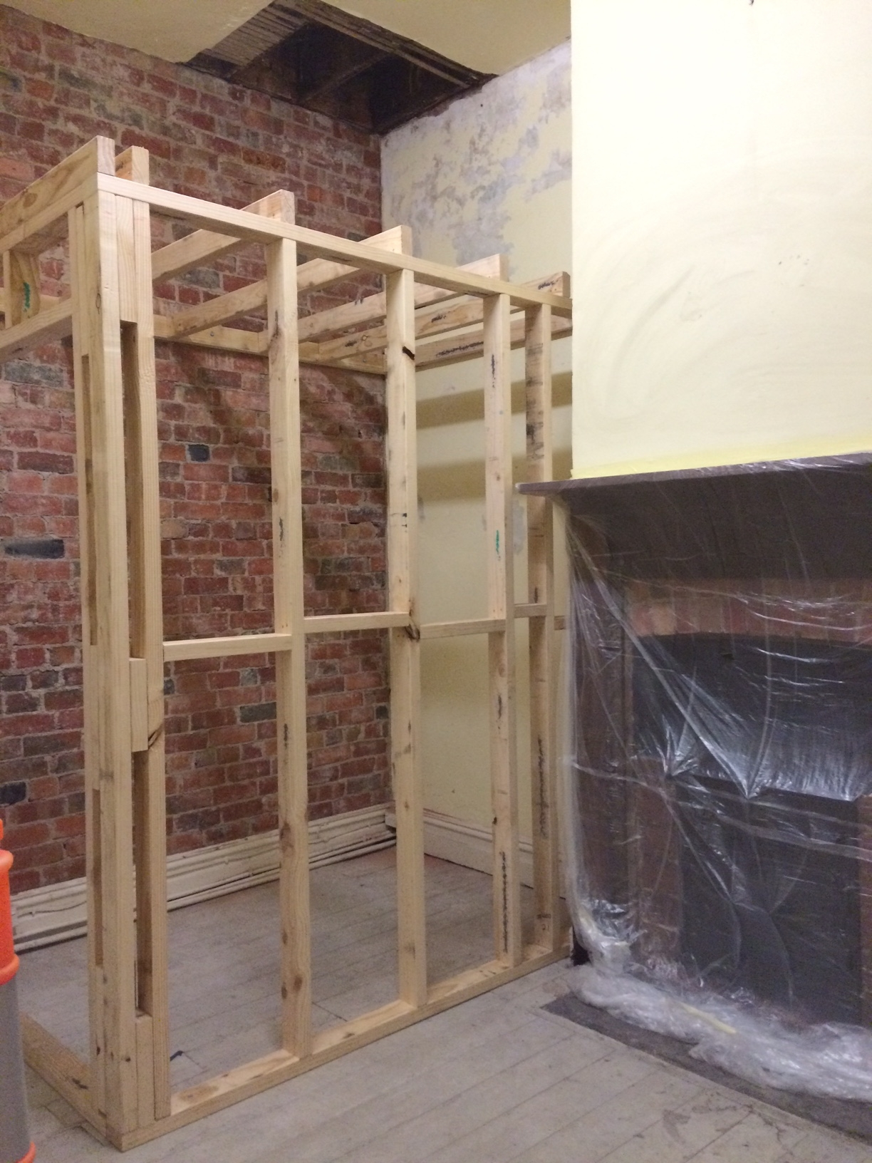 Built a Keg room.