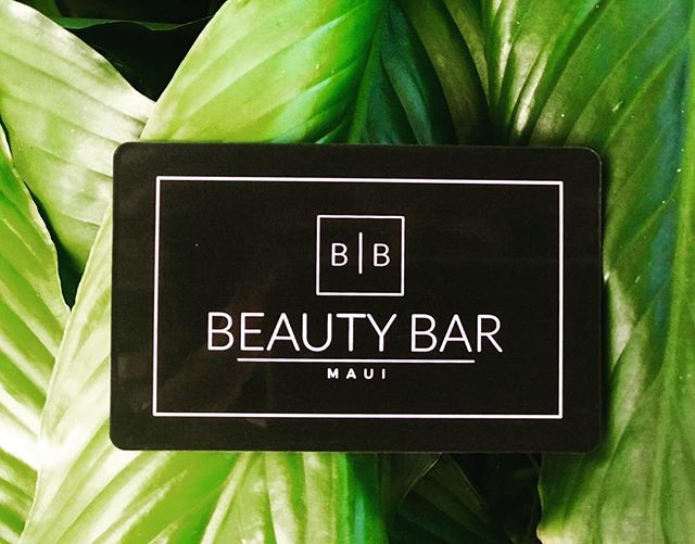 Give the gift of good hair !  Come by and purchase one of our gift cards for the one you love ❤️ #beautybarmaui #giftcards #christmasgiftsideas #allyouneedisgoodhair