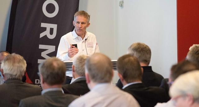 Dansk Sejlunions nuværende formand Hans Natorp