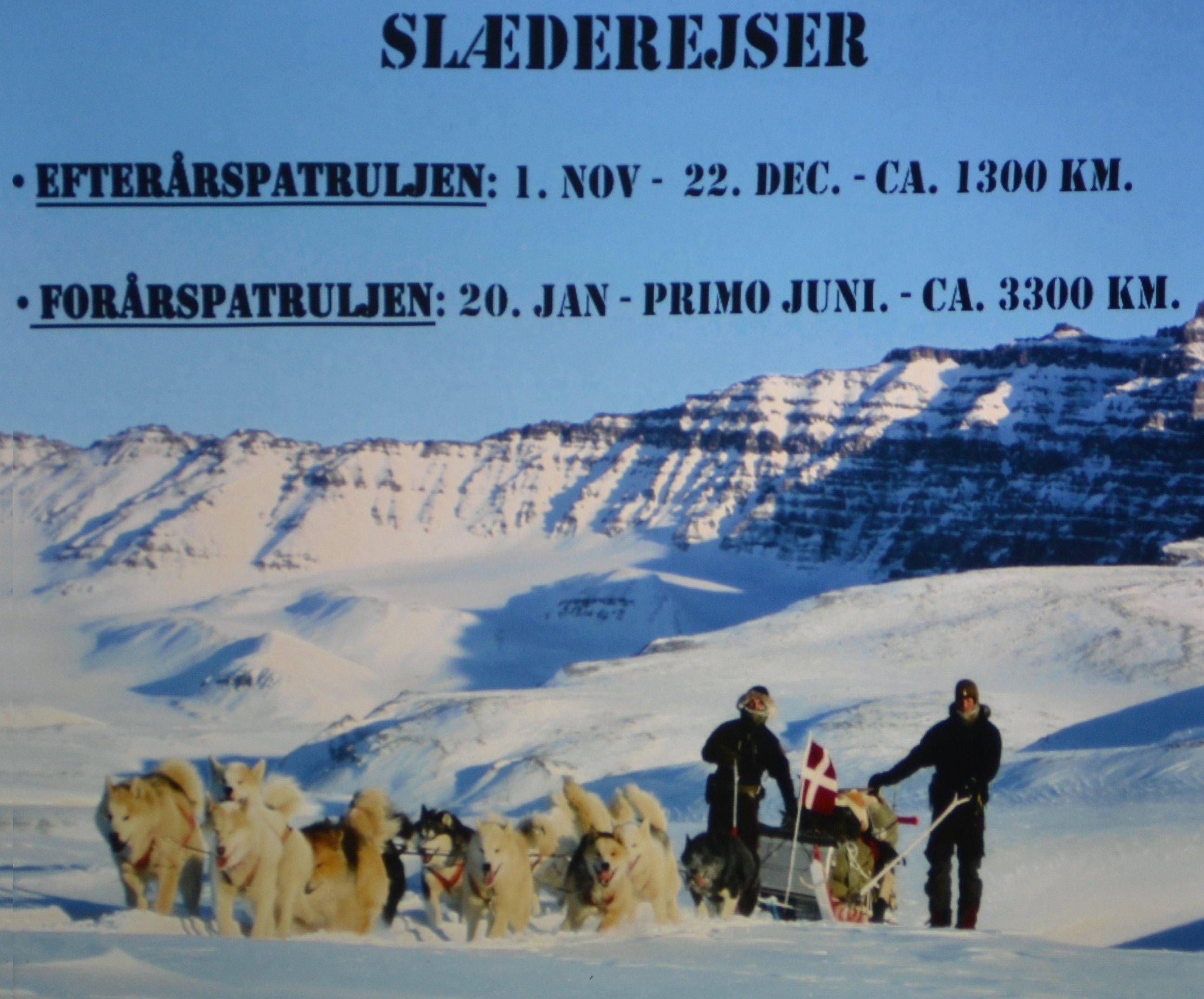 Et typisk vinterprogram for en Sirius-patrulje
