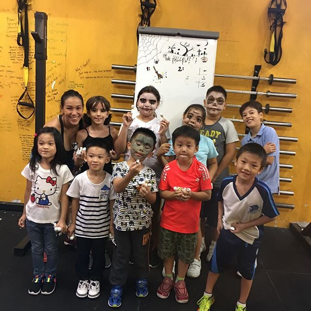 Another great CrossFit Kids! Holloween edition 👀💀👾🤖👻👻