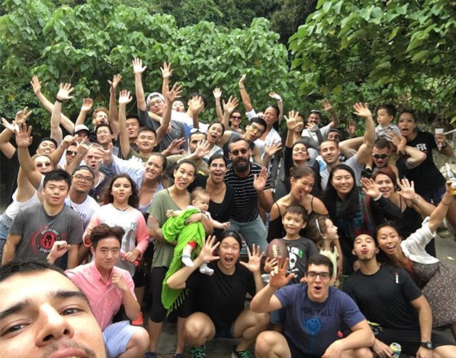 Another GREAT BBQ with the community! Almost forgot to take a pic before everyone left haha so we have 80% of the group 😜😜😜😜 Great food, better company! . . Inspired Through Fitness . . . #crossfit #crossfitmacau #crossfitmacao #macaucrossfit #macaocrossfit #gym #crossfitters #lifting #wod #weight #workout #crazy #muscles #hardwork #fitfam #igfitness #beautiful #health #enjoy #love #nutrition #hardwork #live #addicted  #fit #fitness #family #fitfam #macau #community