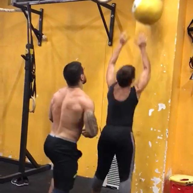 Whenever we have a partner WOD and slimline doesn't have a partner our Team doesn't mind AT ALL to join in hehe 😂😂 Here is Head Coach giving out a helping hand 💀💀💀 . . Don't miss anything! Make sure to follow us on Facebook and Instagram (CrossFit XVI and CrossFit Cotati) for all the updates and promotions! . . Inspired Through Fitness . . #crossfit #crossfitmacau #crossfitmacao #macaucrossfit #macaocrossfit #gym #crossfitters #lifting #wod #weight #workout #crazy #muscles #hardwork #fitfam #igfitness #beautiful #health #enjoy #love #nutrition #hardwork #live #addicted  #fit #fitness #family #fitfam #macau #community