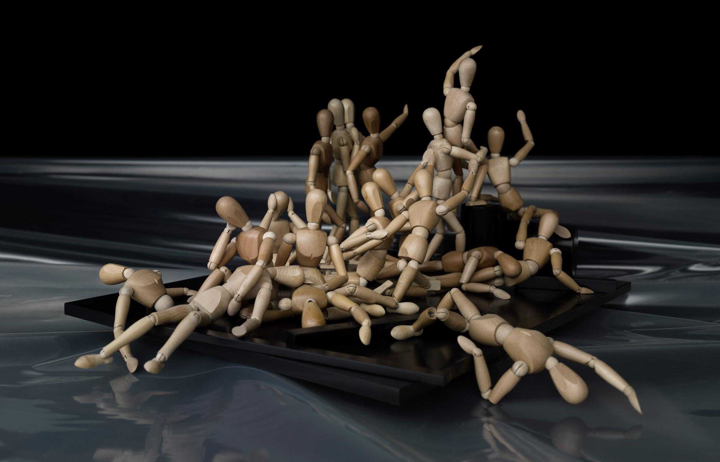 'Das Floss der Medusa' nach Théodore Géricault
