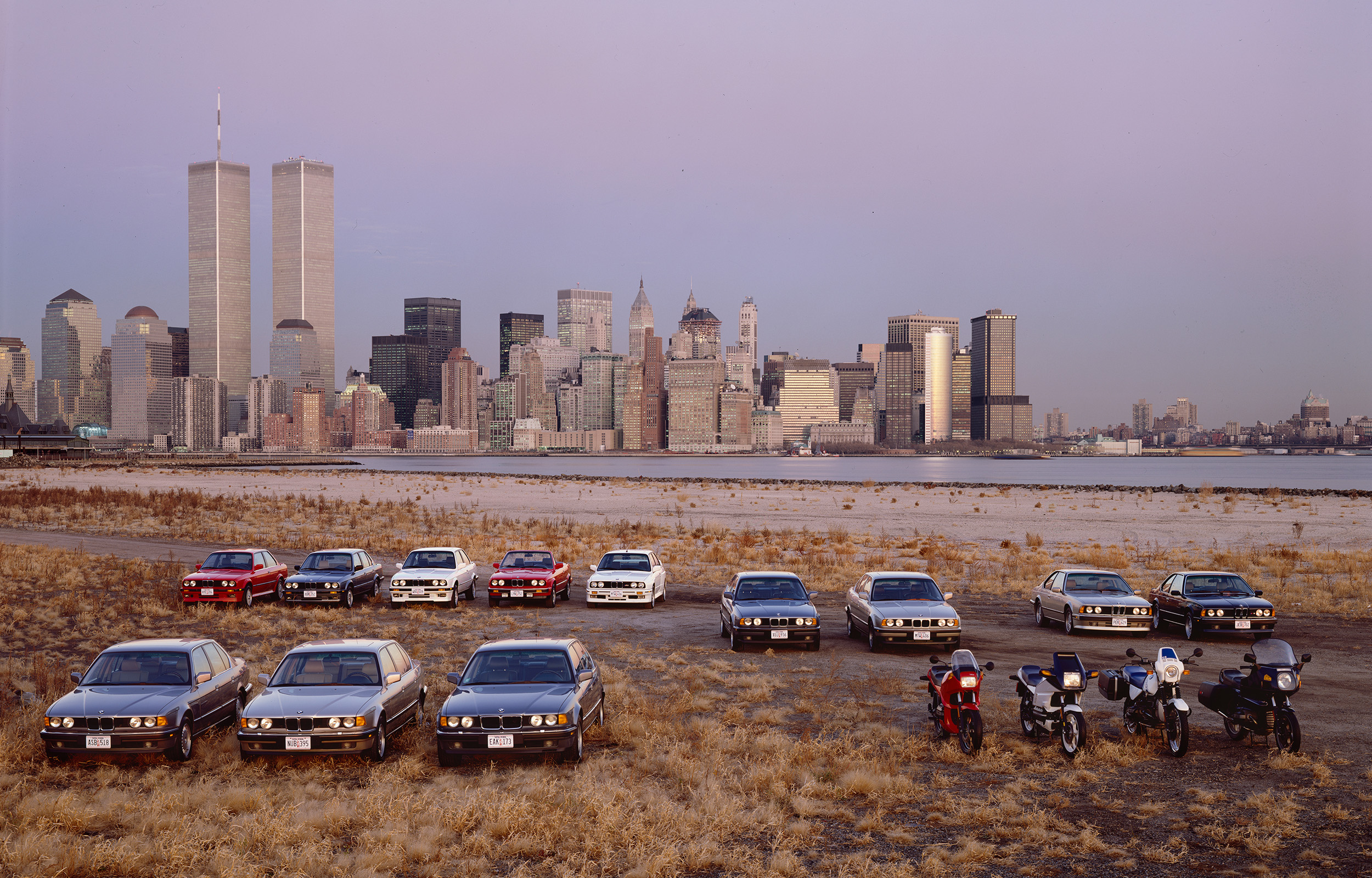 BMW Cars at NYC  BMW Annual Report 1990